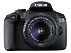 Canon EOS 2000D 18-55mm IS II + borsa e SD 16GB